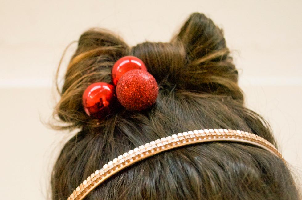 Holiday Hair Bow
