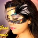 Mardi Gras Masquerade Makeup
