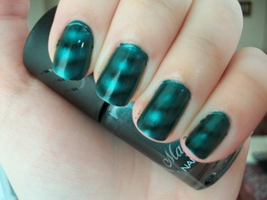 Boots 17 Magnetized Nail Polish in Teal  Please visit my blog to read my review of the polish!   www.mazmakeup.blogspot.com
