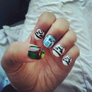 My nails for star wars day!