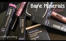 Huge Bare Minerals Haul:Concealer, Eyeshadows, Lipsglosses, etc