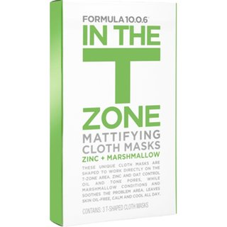 Formula 10.0.6 In The T-Zone  Mattifying Cloth Masks
