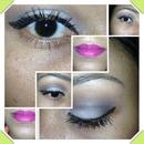 Smokey/ pink lips
