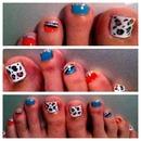 fun toe nails