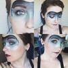 Ice Queen Masquerade Mask makeup