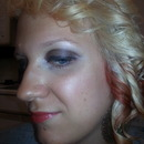 Natural makeup n coral lips