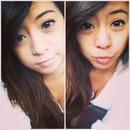 Selfie with blue eyes