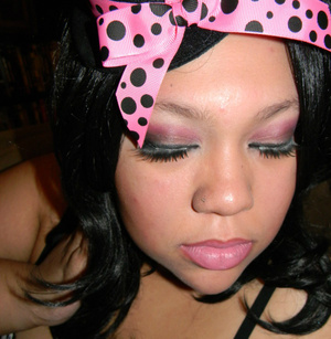 My New Years Makeup its an inspired look from Amy Nicoletto from L.A. ink