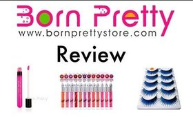 Another Born Pretty Store Review