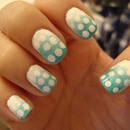 Manicure Monday: Polka Dot Gradient