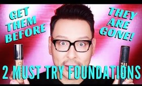 2 Foundations you must try before they are DISCONTINUED!!! | mathias4makeup