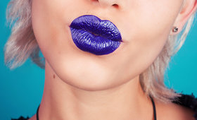 Do You Dare? Black & Blue Lipcolor at the Office