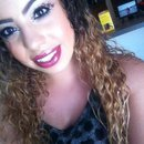 Cheetah eyes w/ purple lip