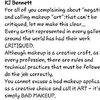 KJ Bennett Speaks The Truth