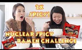 Nuclear Fire Ramen Noodles 핵불닭볶음면 Challenge MUKBANG 먹방 Eating Show | MsLaBelleMel