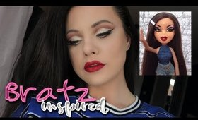 BRATZ Inspired Makeup Look | Danielle Scott