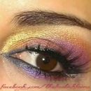 Rainbow Romance Date Night DrugStore Makeup Look