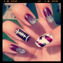 Game Day Nails! :)