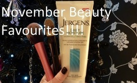 November Beauty Favourites!