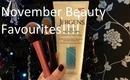 November Beauty Favourites!