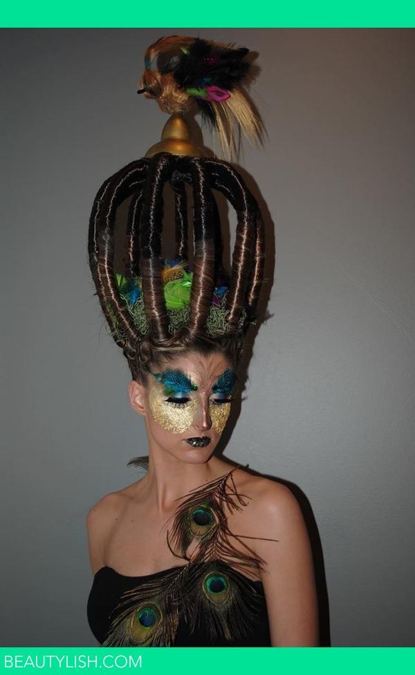 Birdcage Hair Amanda V S Photo Beautylish