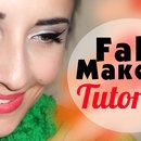Fall Makeup Tutorial Cat Eyes & Bold Lips