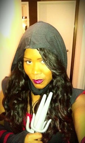The Look I Wore For Halloween - Ninja