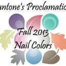 Pantone's Proclamation: Fall 2013 Nail Colors