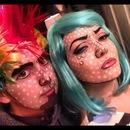 POP art halloween look
