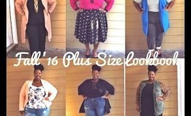 Fall 2016 Plus Size Lookbook | ft. Boohoo, Torrid, H&M, and more!