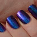 purple metallics