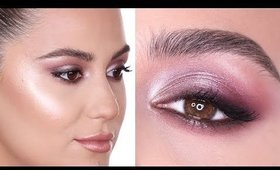 METALLIC SMOKY EYE | Hindash