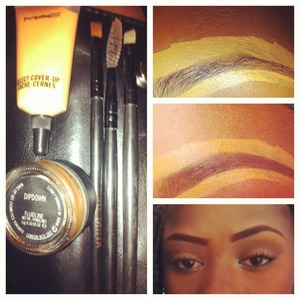 Quick preview of what I use to fill in my brows.