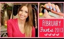 ♥ February Favorites ♥ | Makeup, Nails, Food & More!