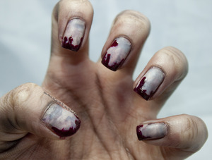 How To on my blog! http://samariums-swatches.blogspot.com/2012/10/halloween-nail-art-challenge-z-is-for.html