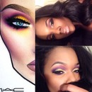 Recreation from MAC artist Valerievixenart