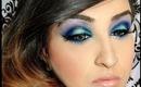 Smokey Blue with Makeup Geek Eyeshadows