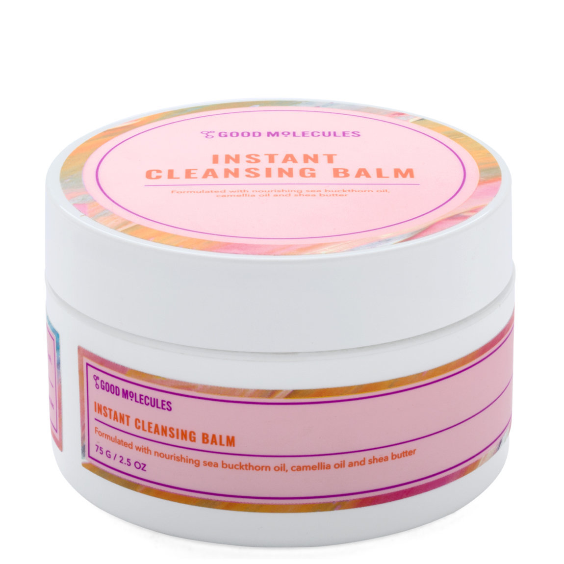 Good Molecules Instant Cleansing Balm Single product smear.