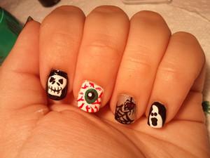 Halloween nails 2011