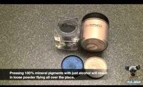 Quick Tip: Press non-MAC Pigments