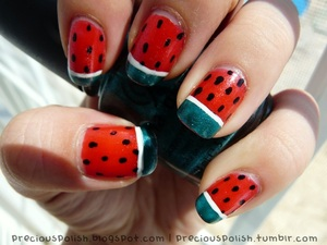 summer's not complete without watermelon (: