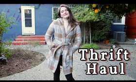 Thrifting + Target Haul | Fall Clothes 🍂