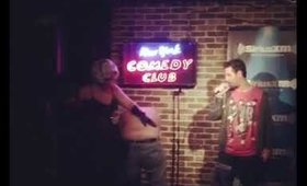 Lady Zombie punishes Bad Comedy!