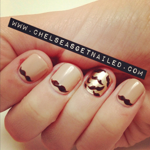 What I Used:  -OPI Don't Pretzel My Buttons  -Essie Good as Gold  -OPI Suzi Loves Cowboys  -Seche Vite top coat