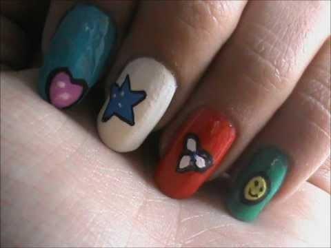 magic nail art for kids easy nail art for short nails