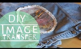 D. I. Y. Image Transfer Customize Vest/Jacket ♥ By: TwoFreckles