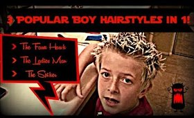 Hairstyling tutorial For Boys!