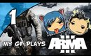 My GF Plays ARMA 3 - Pt. 1 Learning the Basics