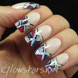 Read the blog post at http://glowstars.net/lacquer-obsession/2014/12/abstract-foil-tips/