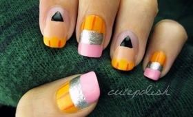 Cute Pencil Nails